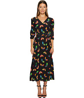 Boutique Moschino - Silk Butterfly Maxi