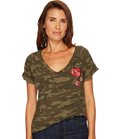 Sanctuary - Camo Bloom Tee