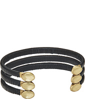 Lucky Brand - Leather Wrapped Cuff Bracelet