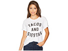 Tacos and Siestas Slub Rolled Short Sleeve Tee