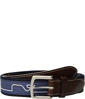 Vineyard Vines - Whaleline Match Canvas Club Belt
