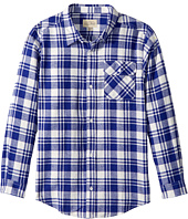 Lucky Brand Kids - Long Sleeve Plaid Shirt (Big Kids)