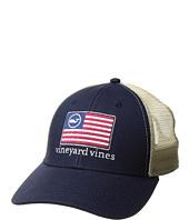 Vineyard Vines - American Flag Whale Line Trucker