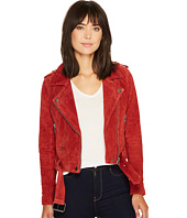 Blank NYC - Moto Jacket in Red My Mind
