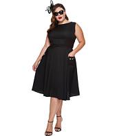 Unique Vintage - Plus Size Eden Sleeveless Dress