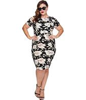 Unique Vintage - Plus Size Mod Wiggle Dress
