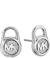 Michael Kors - Logo Lock Stud Earrings