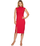 Ivanka Trump - Sleeveless Scuba Crepe Midi Dress with Hardware