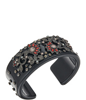 Steve Madden - Casted Floral Open Bangle