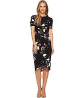 Ivanka Trump - Printed Jersey Knit Dress