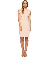 Ivanka Trump - Flutter Sleeve Scuba Crepe Dress