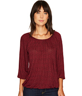 MICHAEL Michael Kors - Mini Leaf Peasant Top