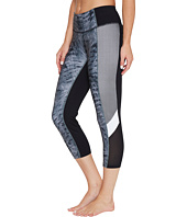 Ivanka Trump - Printed Active Crop Leggings