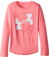 Under Armour Kids - Boxed Logo Long Sleeve (Little Kids)