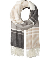 Calvin Klein - Color Block Blanket Scarf