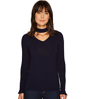 Ivanka Trump - Choker Neck Knit Lightweight Sweater