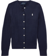 Polo Ralph Lauren Kids - Cable Knit Cotton Cardigan (Little Kids/Big Kids)