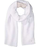 Calvin Klein - Double Face Pleated Blanket Scarf