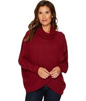 Nally & Millie - Brushed Sweater Wrap Tunic