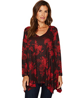 Nally & Millie - Red Print Tunic