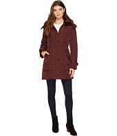 Kenneth Cole New York - Oxford Hooded Anorak w/ Removable Faux Fur Collar