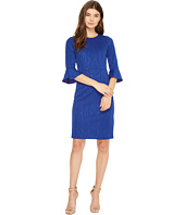Donna Morgan - 3/4 Sleeve Stretch Brocade Bodycon