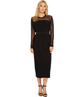 KAMALIKULTURE by Norma Kamali - Long Box Dress with Mid Belt