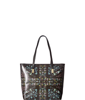 Ted Baker - Unity Floral Leather Shopper