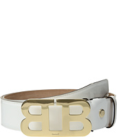 Bally - Mirror B Adjustable Patent Leather Belt
