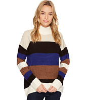 ROMEO & JULIET COUTURE - Striped Turtleneck Sweater