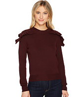 ROMEO & JULIET COUTURE - Ruffle Shoulder Sweater