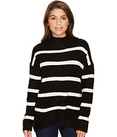 ROMEO & JULIET COUTURE - Stripe Turtleneck Sweater