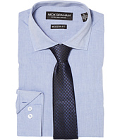 Nick Graham - Chambray Shirt with Tie