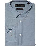 Nick Graham - Micro Dot Print Stretch Shirt