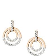 Swarovski - Medium Circle Pierced Earrings