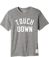 The Original Retro Brand Kids - Short Sleeve Vintage Cotton Touchdown Tee (Big Kids)
