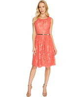 Ellen Tracy - Coral Lace Dress