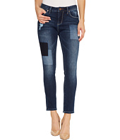 Jag Jeans - Mera Skinny Ankle Platinum Denim in Bucket Blue/Laser Patching