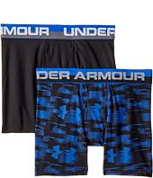 Under Armour Kids - 2 Pack UA Blur Boxer Brief (Big Kids)