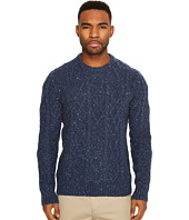 Original Penguin - Long Sleeve Wool Alpaca Fish