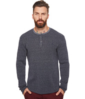 Original Penguin - Long Sleeve Heathered Waffle