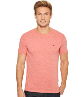 HILFIGER DENIM - Original Melange Crew Neck Short Sleeve T-Shirt