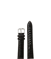 Michele - 18mm Black Lizard Watch Strap