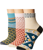 Free People - Triple the Fun Socks 3-Pack