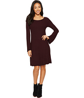 Three Dots - Viscose Rib Easy Dress