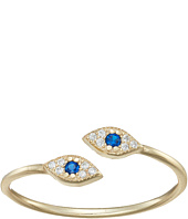 SHASHI - Double Evil Eye Ring