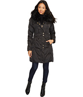 Via Spiga - Faux Fur Trimmed Hood Winter Coat