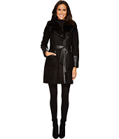 Via Spiga - Mix Media Belted Coat