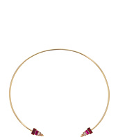 Rebecca Minkoff - Stacked Baguette Hinged Collar Necklace