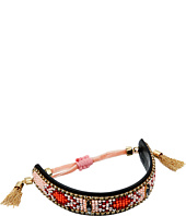 Rebecca Minkoff - Sparkler Seedbead Bracelet with Velvet Pulley